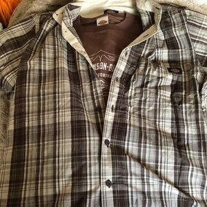 NWT Men's Dickies 2-Piece Shirt Set